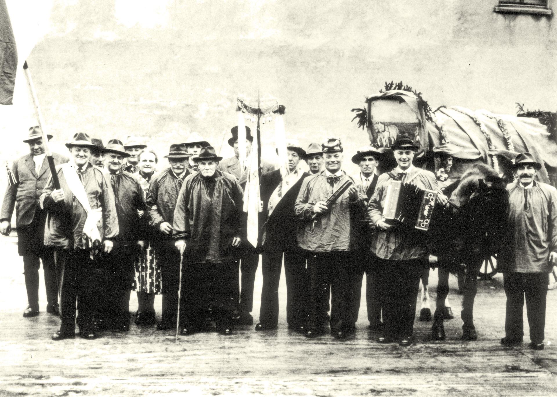 Beckumer-Bauknechte_Heischegang-nach-1953